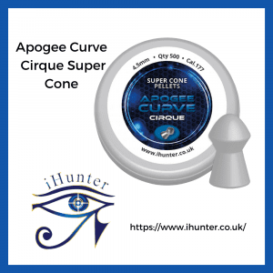 airgun pellets Apogee Curve Cirque Super Cone
