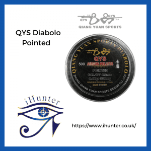 pointed QYS airgun pellets Diabolo