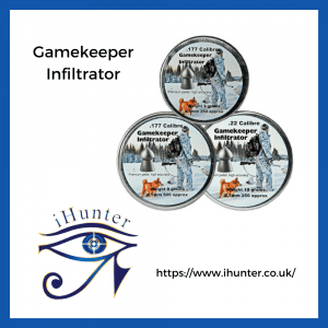 infiltrator pellets by Gamekeeper