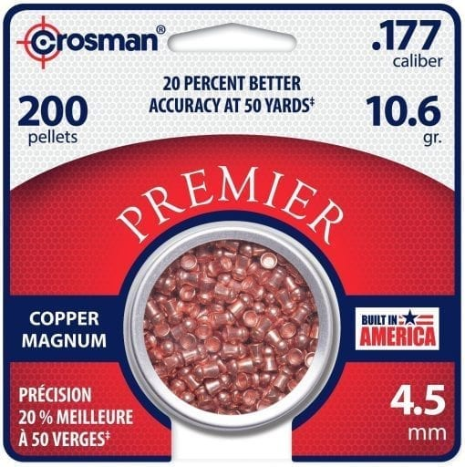 Crosman Premier .177 Copper Domed Pellets
