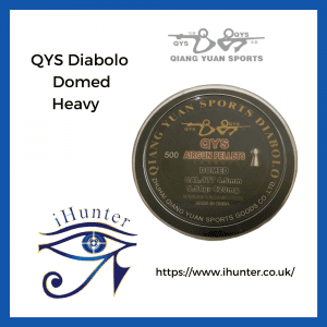 airgun pellets QYS Diabolo Domed Heavy .177/4.49mm