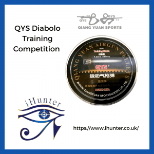 Diabolo QYS QYS Training / Match Airgun Pellets .177/4.50mm