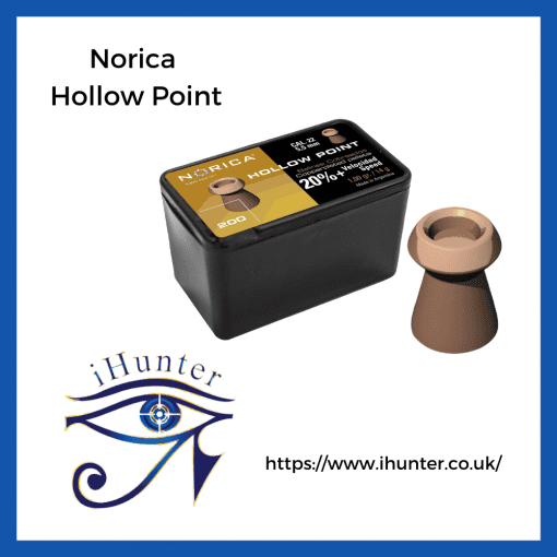copper coated airgun pellets , Norica hollow point