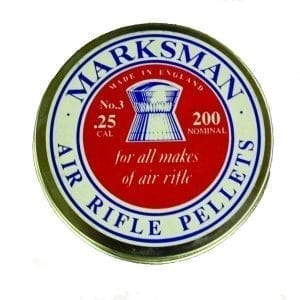 Best of British .25 Cal Marksman pellets