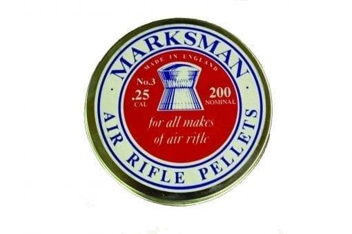 Best of British .25 Cal Marksman pellets