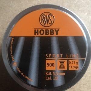 RWS Hobby .22 Pellet