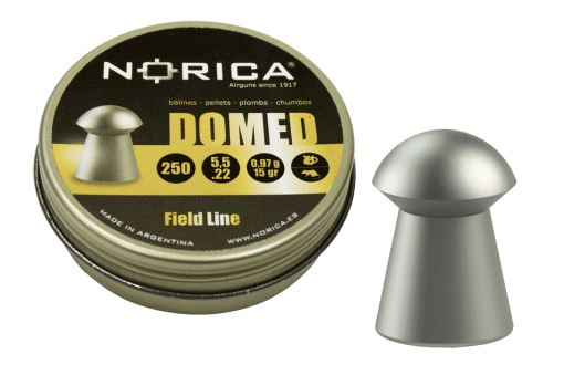 Domed Hunting and target pellet