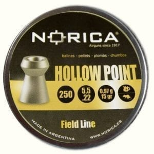 norica hollow point pellets
