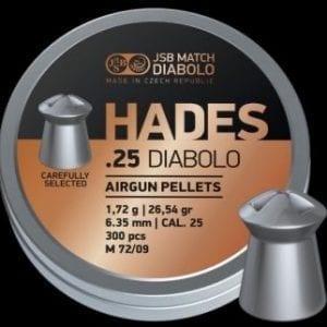 Hades .25 pellets