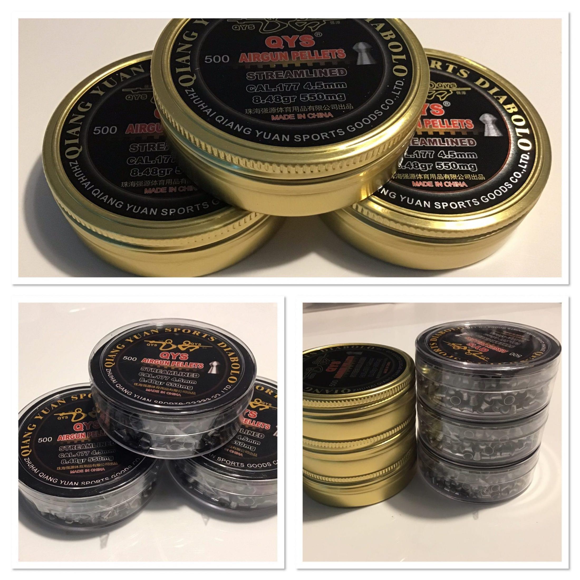 QYS in tins