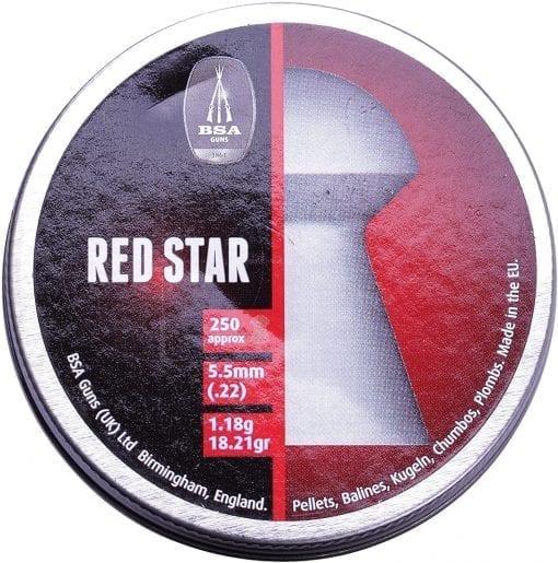 bsa red star 22