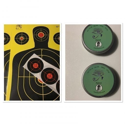 Package pellets/targets