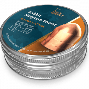 Magnum power copper plated pellets