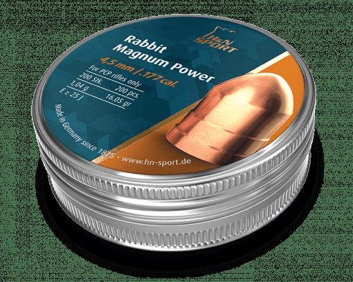 Magnum power copper plated pellets