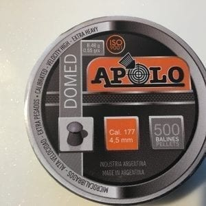 Apolo Domed Airgun pellets