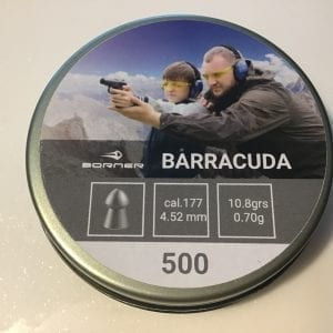 Barracuda .177 Airgun pellets
