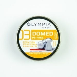 Domed Lead Free pellets