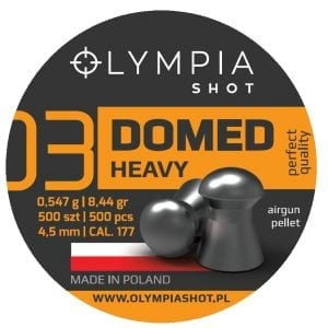 Domed Heavy Olympia Shot airgun pellets