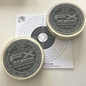 FX Sample Pellets